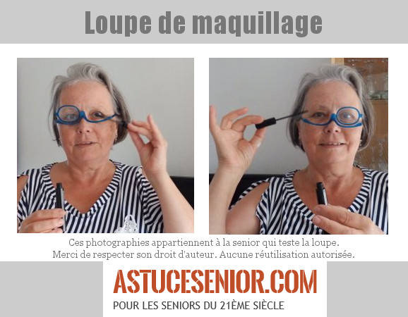 loupe maquillage astucesenior