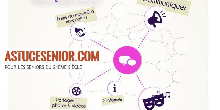 Seniors : les utilisateurs malins des réseaux sociaux et d'internet